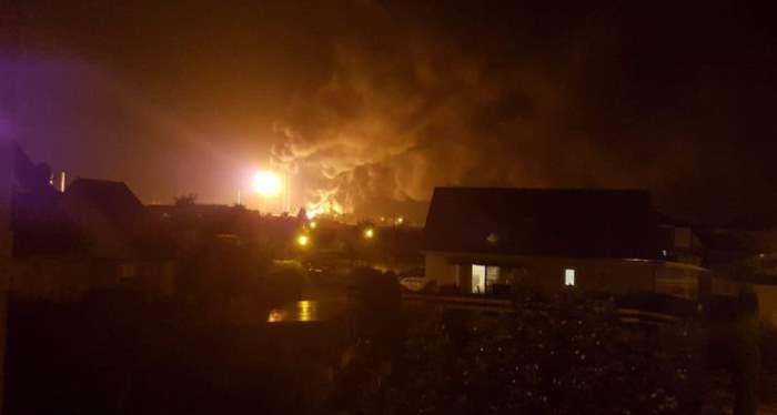 взрыв на заводе Германия