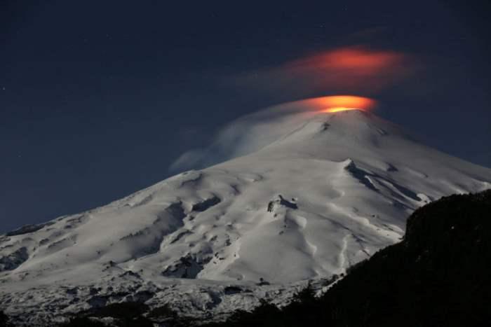 вулкан чили