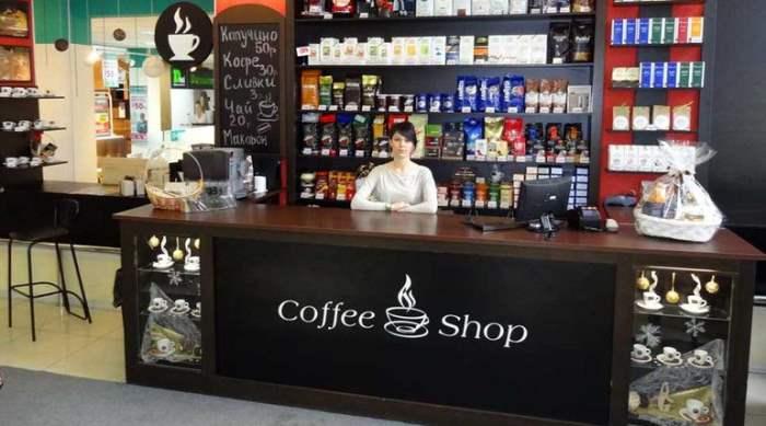 магазин кофе