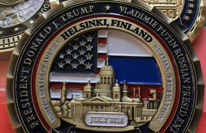 монета хельсинки белый дом