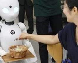 официанты роботы