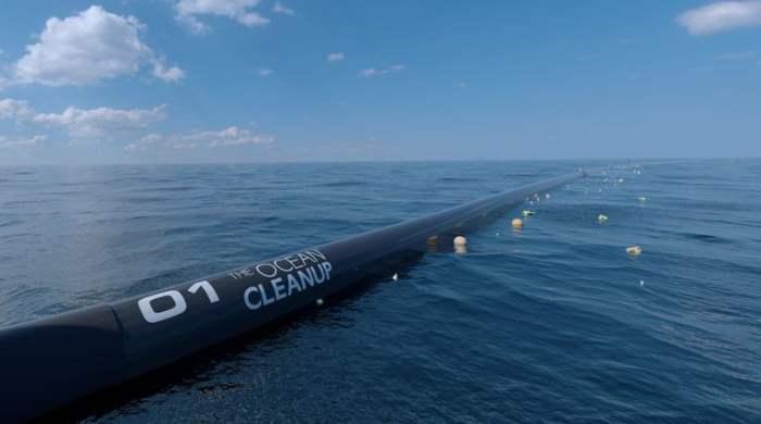 очистка океана от пластика