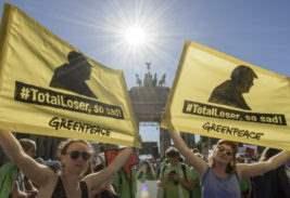 протест изменение климата