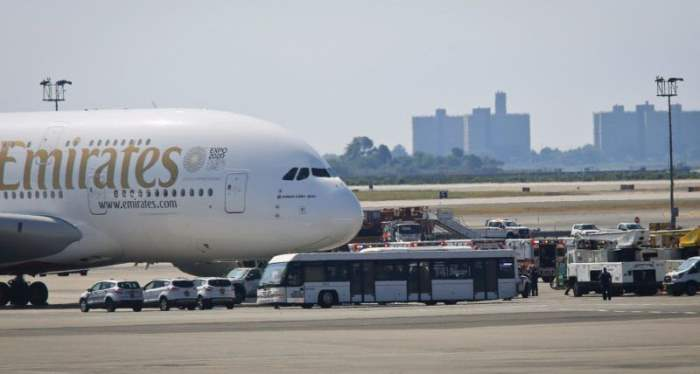 самолет Нью-Йорк