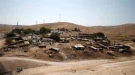 Bedouin settlement in the West Bank