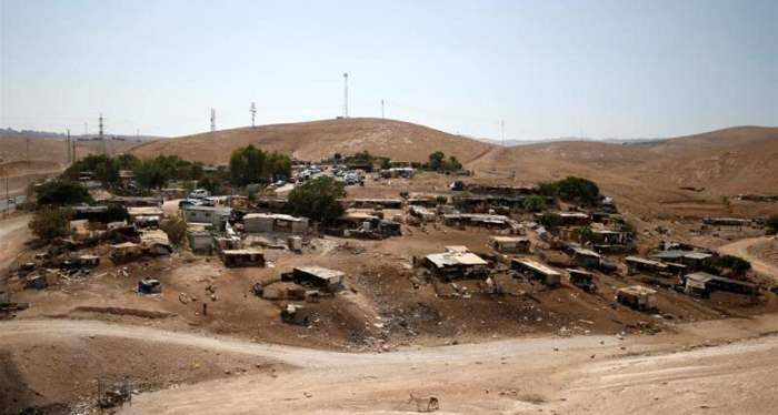 Bedouin settlement in the West Bank