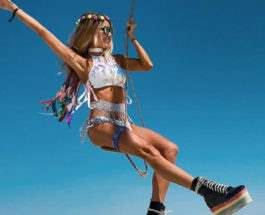 Burning Man 2018 девушки