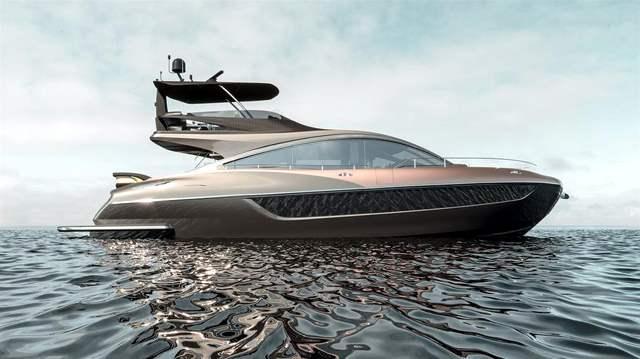 Lexus яхта