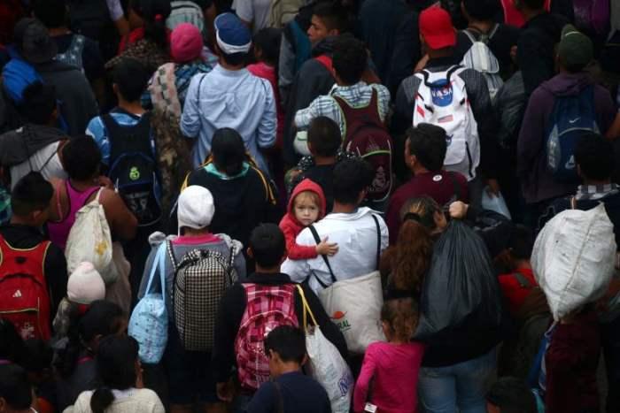 Гондурасские мигранты