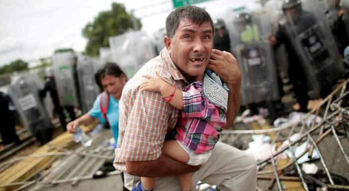 Гондурасский мигрант