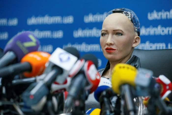 Гуманоидный робот София