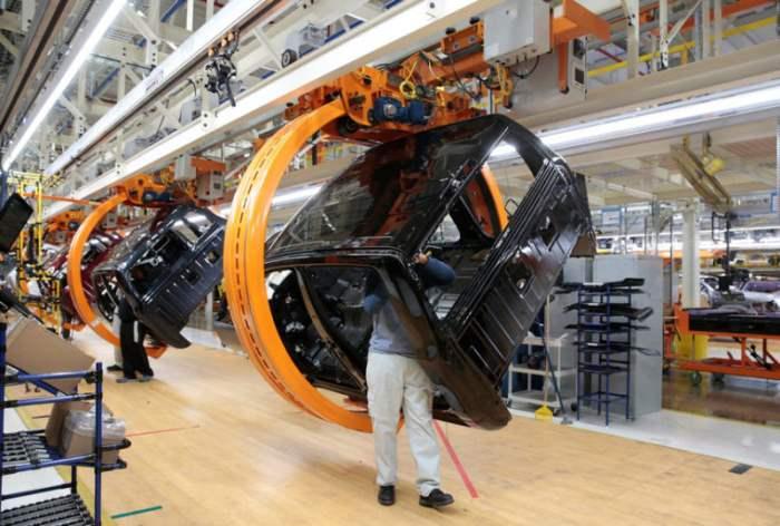 Завод Fiat в Мичигане, США.