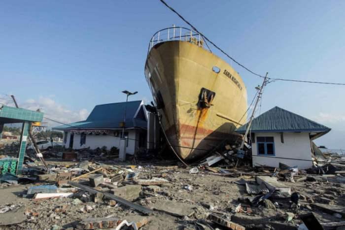 Корабль, выброшенный на берег