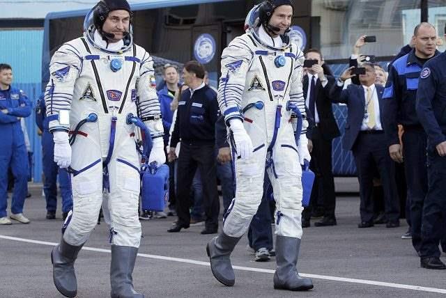 Космонавты союза