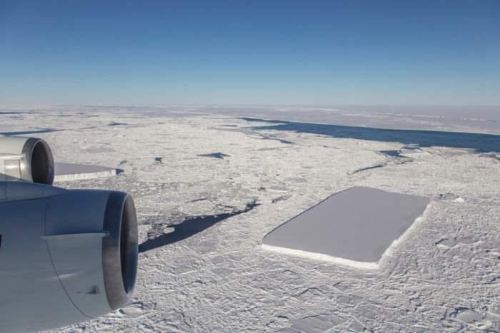 Необычный айсберг