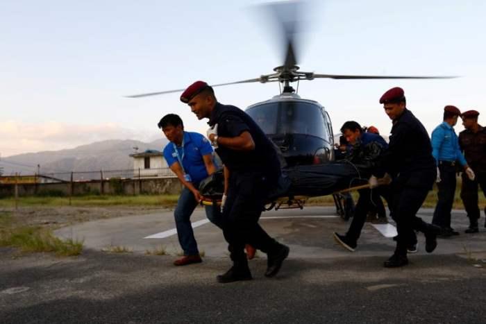 Непальские сотрудники полиции