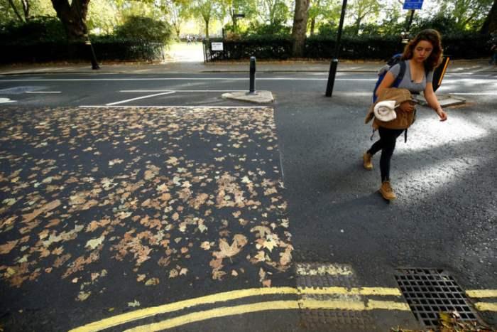 Осень в Лондоне, Великобритания.