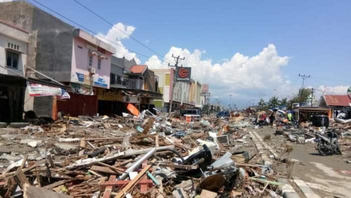 Последствия землетрясения в Пало