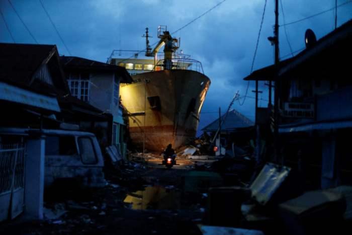 После цунами в Палу