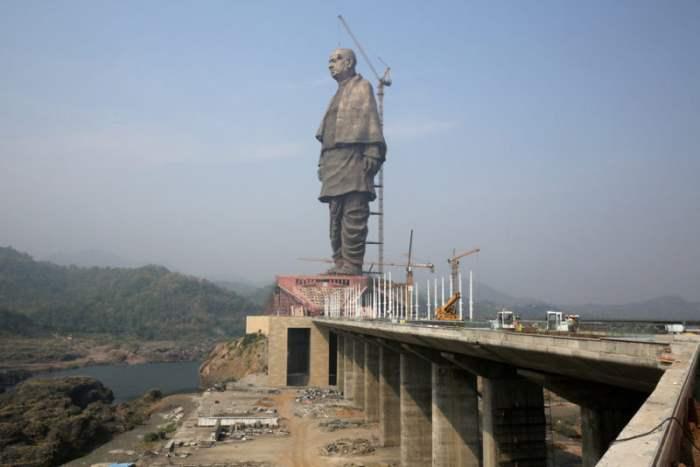 Статуя объединения в Индии.