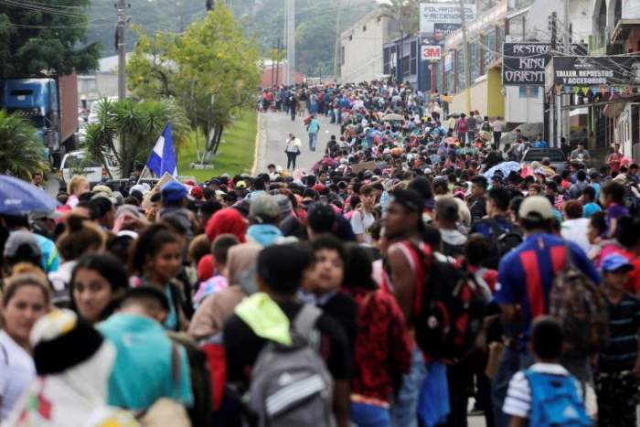 Тысячи гондурасцев