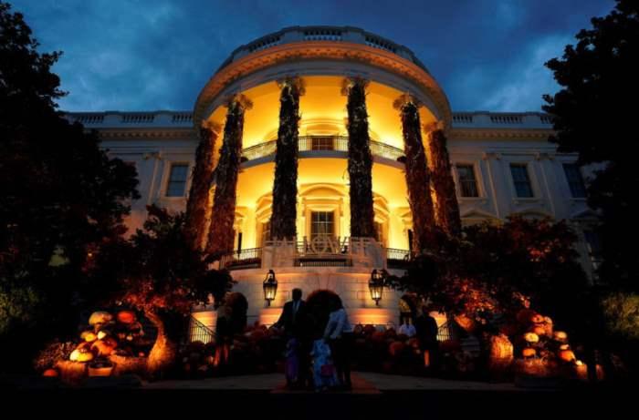 Украшение Белого дома