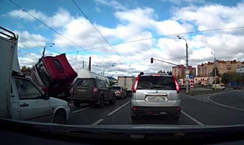 авария грузовик