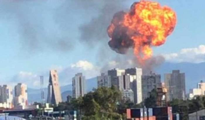 взрыв мексика