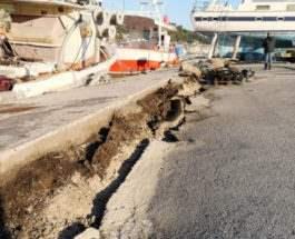греция землетрясение