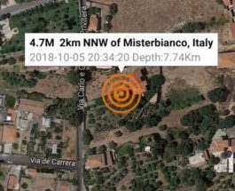 землетрясение сицилия