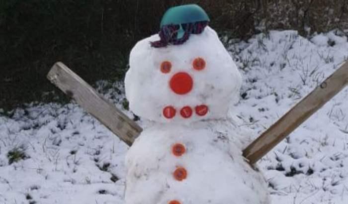 испания снег