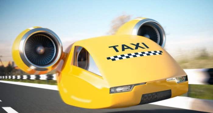 летающие такси