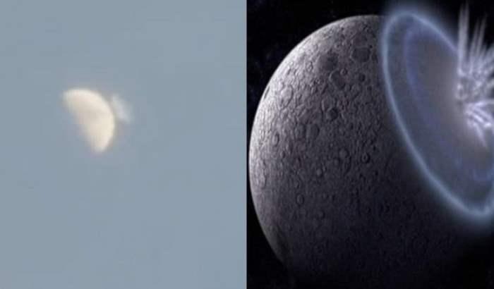 луна астероид