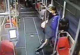 нападение в трамвае