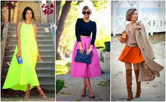 одежда цвета сочетание