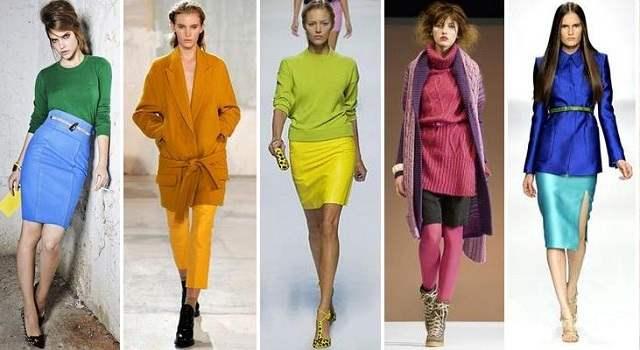 одежда цвета