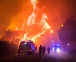 пожар португалия
