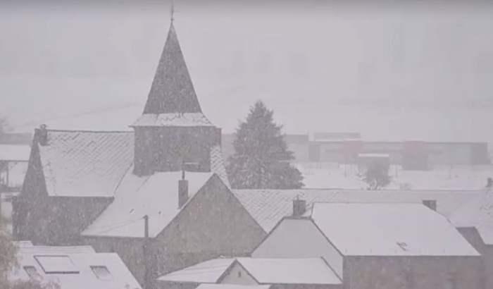снег Бельгия