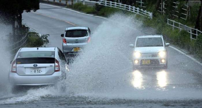 япония тайфун