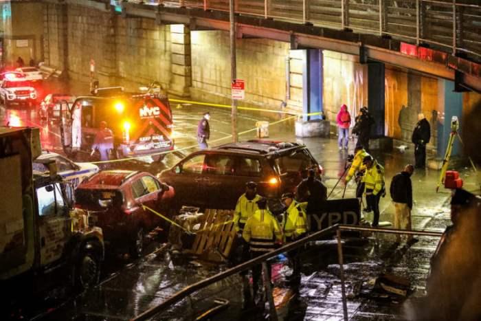 Автомобильная катастрофа на Манхэттене