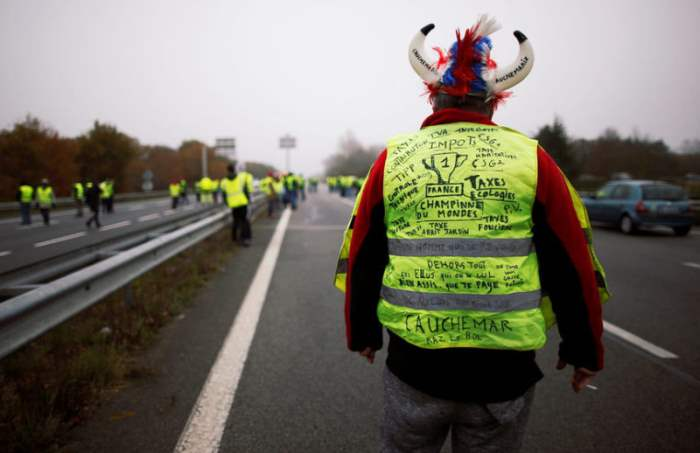 Водители протестуют