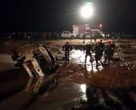 Иордания наводнение