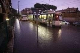 Италия дождь