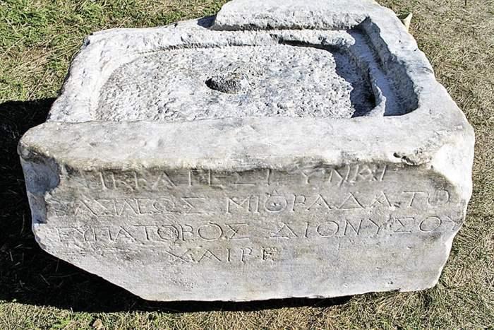 Камень Гипсикратии из Фанагории