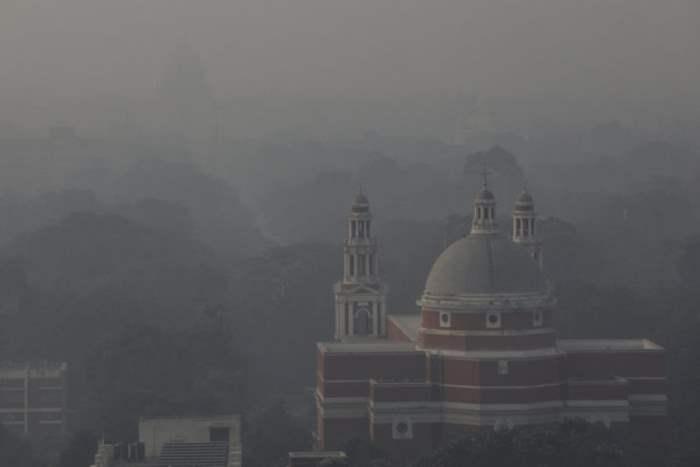 Пейзаж из Нью-Дели, Индия.