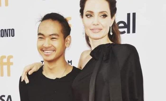 Старший сын Анджелины Джоли