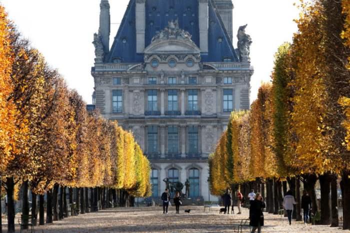 Тулье в Париже