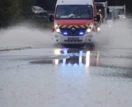 Франции наводнение