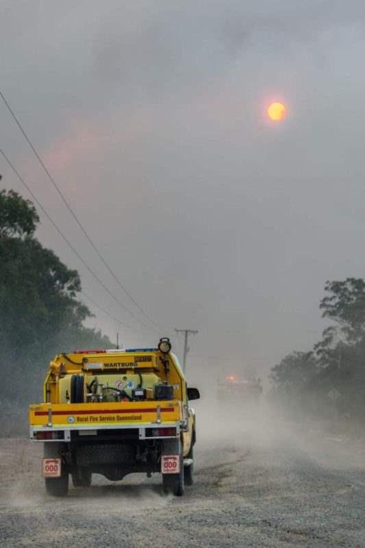 австралия пожары