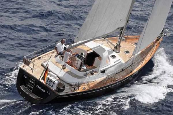килевая яхта